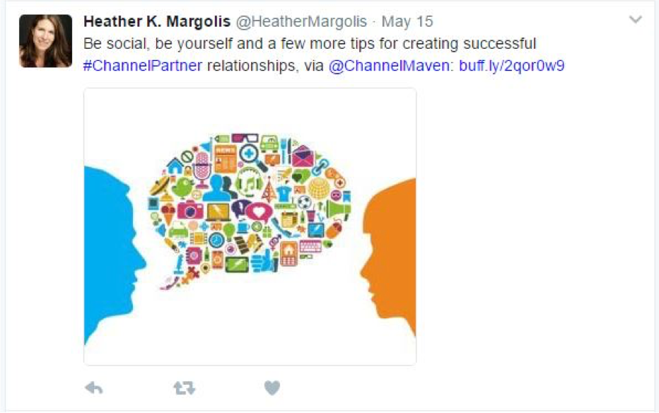 Tweet about Channel Maven