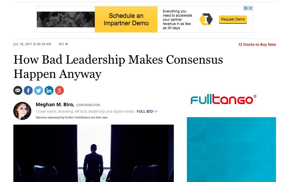 Leadership Article